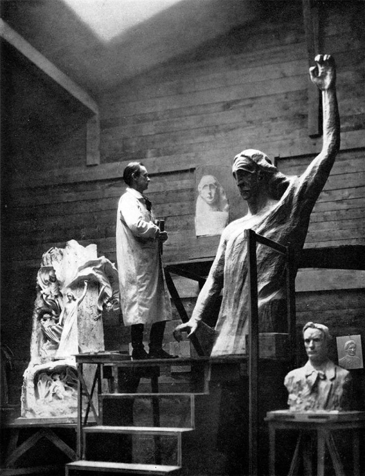 steiner-sculpting-christ