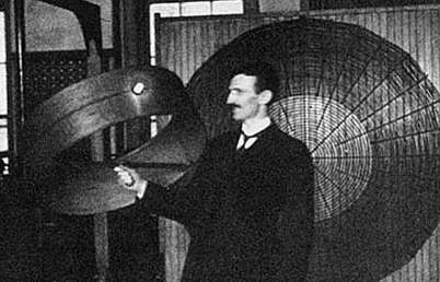 tesla-and-antenna