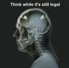 Think while it is still legal