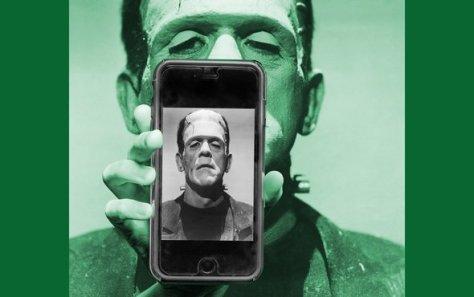 frankenstein-and-smart-phone