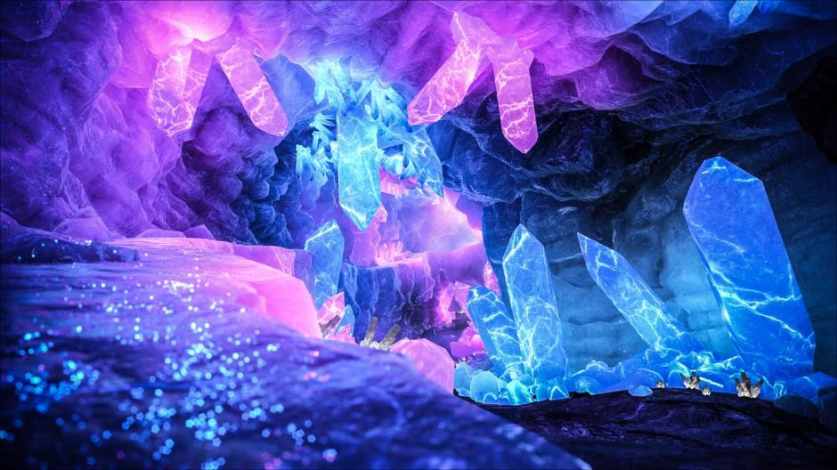 Crystals Hold Secrets of the Akasha Crystal-cave