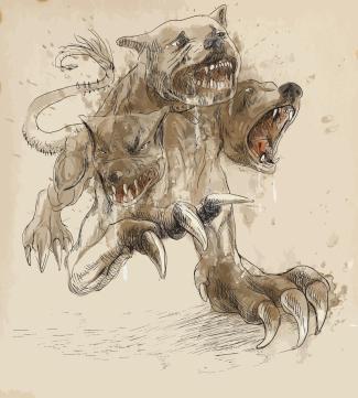 three headed dog
